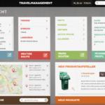 Außendiensttool Dashbord Tourenplanung